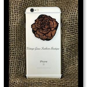 Yellow Rose of Texas Phone Grip